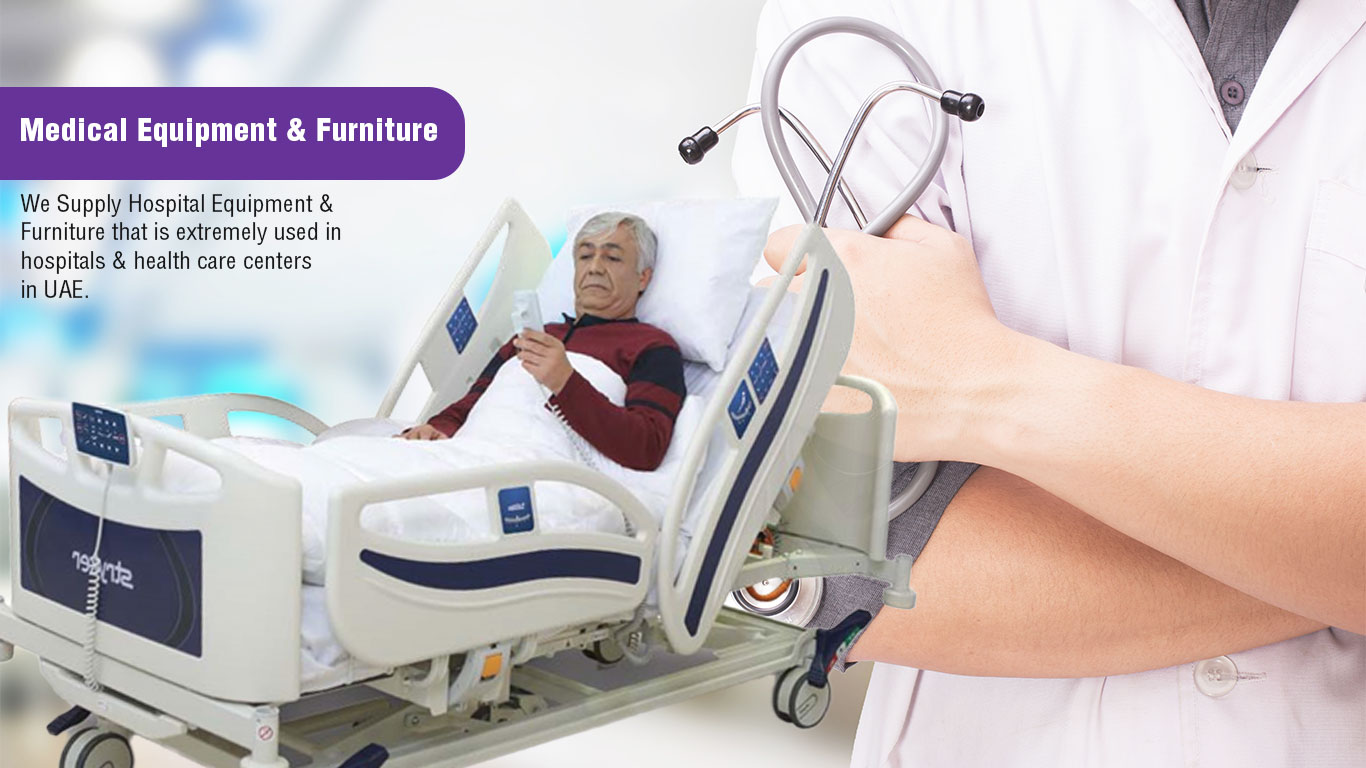 We Supply Hospital Equipment & Furniture that is extremely used in hospitals & health care centers in UAE.